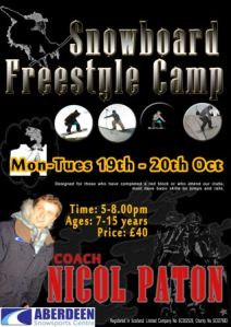 sb fresstyle camp Oct 09